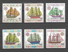 Bateaux Bulgarie (83) série complète de 6 timbres oblitérés