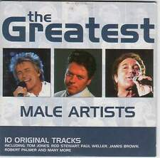 GREATEST MALE ARTISTS: PAUL WELLER, MEAT LOAF, ROBERT PALMER, MARVIN GAYE ++