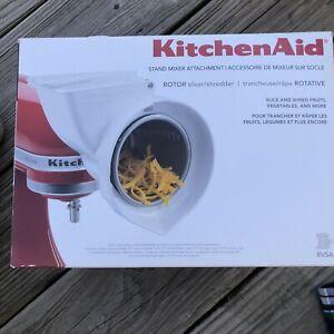 Kitchen Aid Slicer & Shredder Rotor Stand Mixer Attachment Original Box New OB