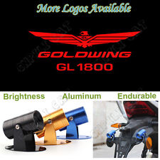 Red GOLDWING GL 1800 Logo Motorcycle Laser Projector Shadow LED Light for Honda