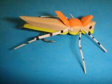 New listing Last: Fly Fishing Flies - Tan/Yellow Morrish Hopper size #12 (5 pcs.)