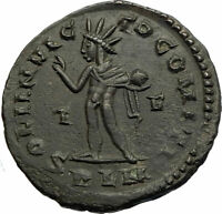 CONSTANTINE I the GREAT Original Authentic Ancient 310AD Roman Coin w SOL i77169