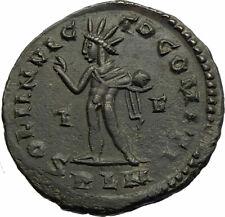 CONSTANTINE I the GREAT Original Authentic Ancient 310AD Roman Coin w SOL i77169