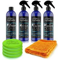 Car Interior Cleaning Kit Glass Leather Fabric Cleaner Detail Pure Definition