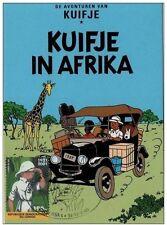 Congo TINTIN en AFRIQUE-KUIFJE in AFRIKA-MAXIMUM CARD-2001