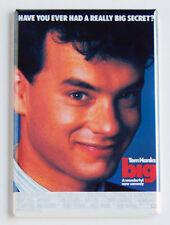 Big movie poster FRIDGE MAGNET retro 80s Tom Hanks comedy refrigerator magnet L5