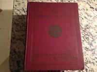 Vintage National Radio Instutite Service Manual Book  Volume 1 (1946) Rare