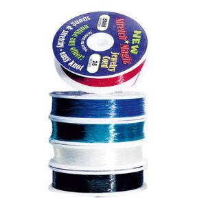 Gummifaden - Stretch Magic 1a - 3 Meter • 0,5mm / 0,7mm / 1,0mm