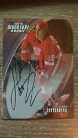 2002-03 BAP Signature Series Autographs #190 Henrik Zetterberg card