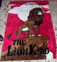 1 TEPPICH WALT DISNEY BIG CARPET-THE LION KING/DER KONIG DER LOWEN SIMBA kinder