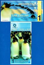 Antarctica $1 One Dollar December 2011 Polymer Uncirculated Free Shipping