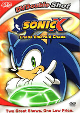 Sonic X - 2 EPISODES- Chaos Emerald Chaos / Unfair Ball (DVD) Brand New