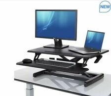Seville Classics Airlift Pro Pneumatic Sit-to-Stand Laptop Computer Desk Riser