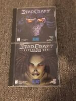 StarCraft + Brood War Expansion PC/MAC CD-ROM and Lords of Magic Blizzard 2003