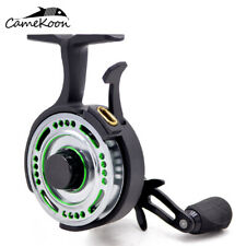 CAMEKOON FL501L Inline Ice Fishing Reel 2.5:1 Freefall Left Handed Retrieve Reel
