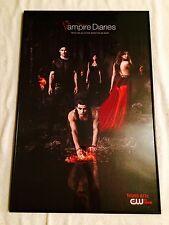THE VAMPIRE DIARIES Woods Poster Print, 24x36. framed. nice. Original TV poster