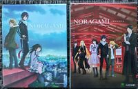 Noragami Limited Edition Complete First Second Season 1&2 Anime Blu-ray/DVD lot