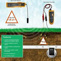 KOLSOL F02 NF-816 Underground Wire Locator Control Tracker With Earphone Cable