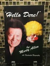 AUTOGRAPHED / SIGNED - Hello Dere! : An Illustrated Biography by Marty Allen