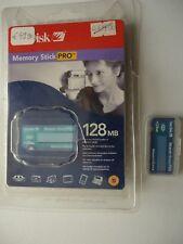 MEMORY STICK PRO 128MB  SANDISK IN CONFEZIONE