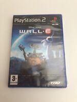 PS2 Disney Pixar WALL-E, UK Pal, New & Factory Sealed