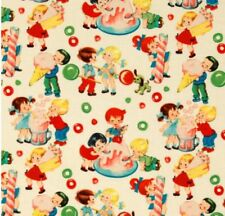 Michael Miller Retro Candy Shop Fabric Material Sold by Quarter of a METRE W44""