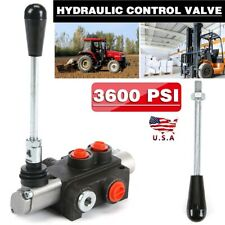 1 Spool Hydraulic Directional Control Valve 11gpm Motors Spool Double Acting Us