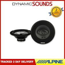 Alpine SXE-2035S 280W 20cm 3-Way Coaxial Car Door Shelf Speakers System 45 RMS