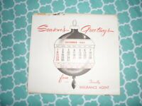 1964 calendar from Faw & Sherrod Insurance Johnson City Tn Utic Mutual Insurance