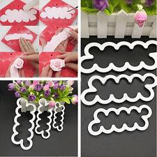 3D Rose Flower Decorating Tools Cutter Mold Sugarcraft Fondant Cake Baking Maker