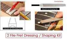 GeetarGizmos Guitar FRET SHAPING / DRESSING KIT Sanding Stick Flat File Luthier