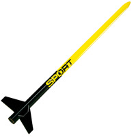 CUSTOM SPORT Flying Model Rocket Kit - 10037 - Skill Level 1
