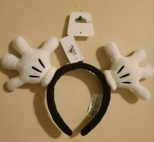 Disney Parks Mickey Mouse Glove Hand Ears Headband New In Hand