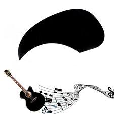Black Celluloid Pickguard Scratch Plate Pick Guard for Acoustic Guitar
