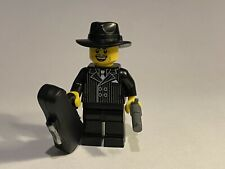 LEGO 2 NEW GANGSTER MINIFIGURES AMERICAN MOBSTER FIGURES BAD GUYS WITH WEAPONS