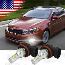 H8 Led Fog Light Bulb 6000K Super White For Kia Optima 2011 2012 2013 2014 2015