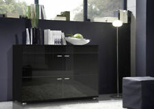 Black Contemporary Sideboards with Doors