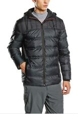 Puma Ferrari Down Filled Mens Jacket Coat Puffer 569322 01 Black size Large $279