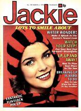 JACKIE MAGAZINE #739 FLINTLOCK COLOUR POSTER, JAM, ALESSI BROTHERS