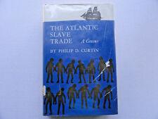Atlantic Slave Trade Census Curtin HC/DJ Ex-Lib Book 1969
