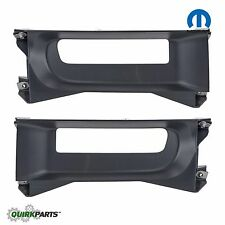 2013-2019 DODGE RAM 1500 CLASSIC FRONT TOW HOOK BEZELS RIGHT & LEFT OEM MOPAR