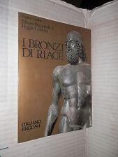 I BRONZI DI RIACE Francesco Palano Gianfranco Cavaliere 1983 libro viaggi di