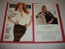 Celine Dion What'S On Magazine Las Vegas