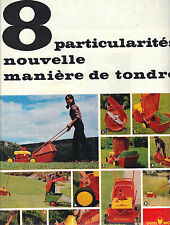 PUBLICITE ADVERTISING   1967    OUTILS WOLF tondeuse