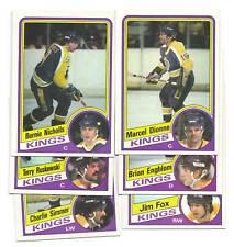 1984-85 TOPPS LOS ANGELES KINGS  CARD LOT