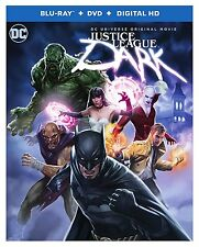 JUSTICE LEAGUE - DARK animated movie -  Blu Ray - Sealed Region free