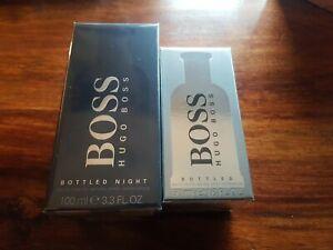 2 Bottles of Hugo boss Aftershave