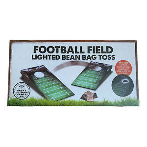 Corn Hole Portable Tail Gate Size Lighted Hole Great For Camping Indoor Play NIB