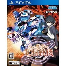 Cyber Troopers Virtual On x Toaru  PS Vita SONY Playstation JAPANESE VERSION
