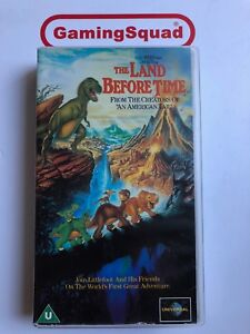 The Land Before Time VHS Video Retro, Supplied by Gaming Squad Ltd